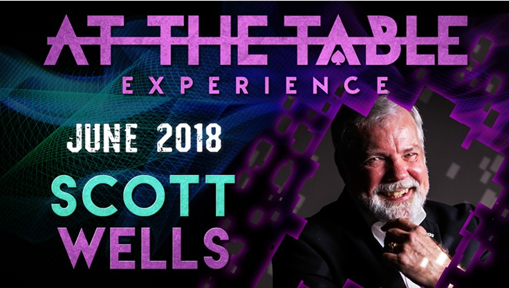 At the Table Live Lecture starring Scott Wells June 2018