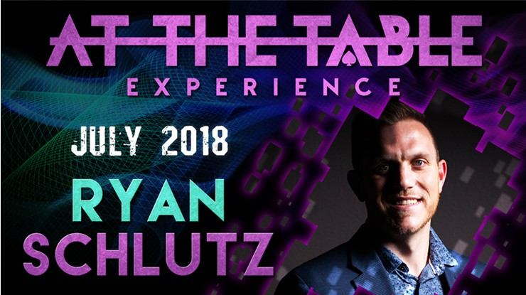 At the Table Live Lecture starring Ryan Schlutz 2018