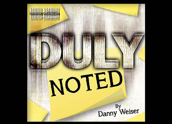 Danny Weiser - Duly Noted (video download)