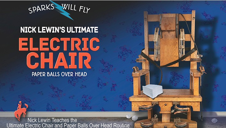 Ultimate Electric Chair & Paper Balls Over The Head by Nick Lewin (Video Download)