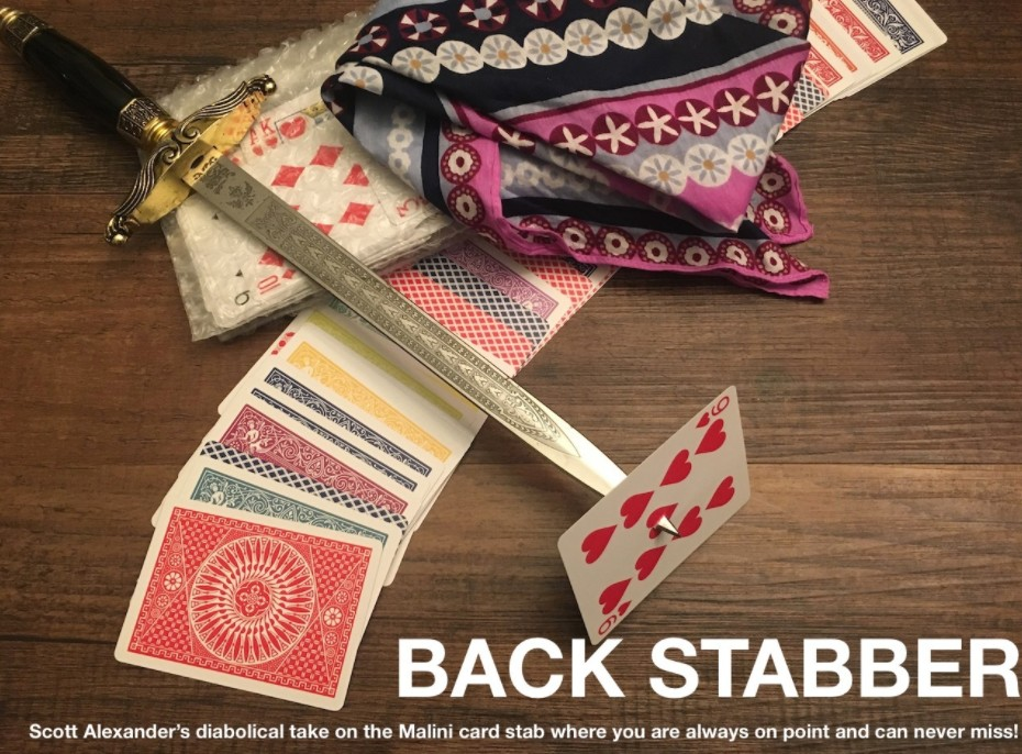 Back Stabber by Scott Alexander (Video Download)