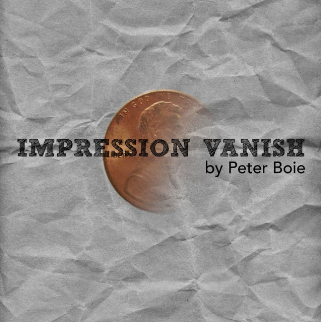 Impression Vanish by Peter Boie (Video Download)