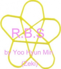 Rubber Band Stop R.B.S. (Star & Circle Set) by JL Magic Yoo Hyun Min (Zeki)