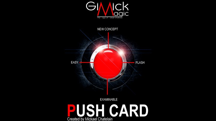 Mickael Chatelain - PUSH CARD (Video Download)