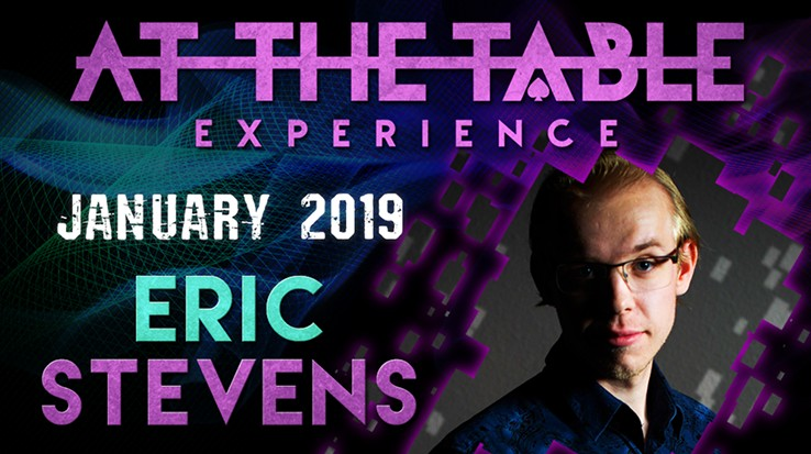 At the Table Live Lecture starring Eric Stevens 2019
