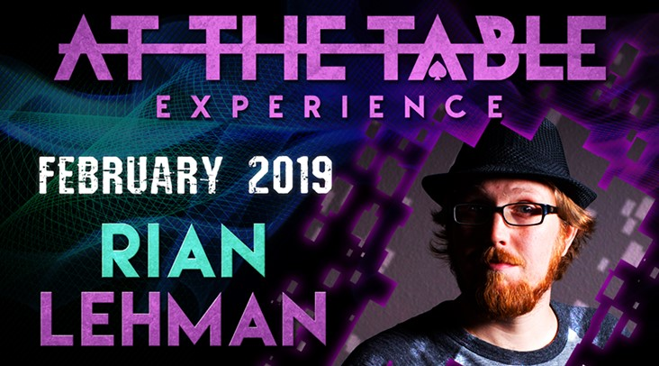 At the Table Live Lecture starring Rian Lehman 2019