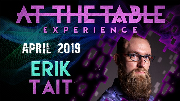 At the Table Live Lecture starring Erik Tait 2019