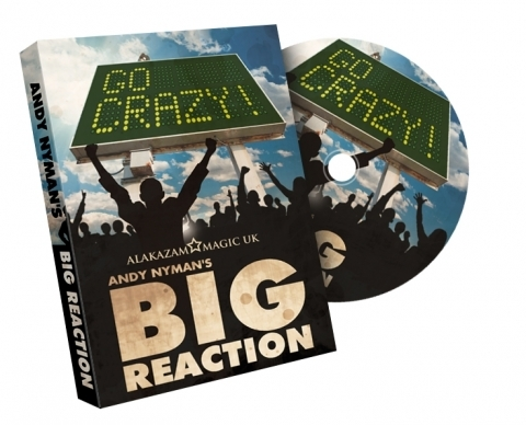 BIG REACTION by Andy Nyman (Original DVD Download)