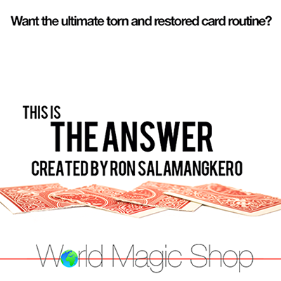 The Answer by Ron Salamangkero (MP4 Video Download)