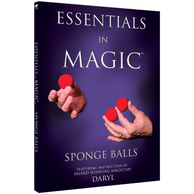 Essentials in Magic Sponge Balls by Daryl - English (Video Download)
