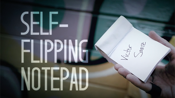 Self-Flipping Notepad by Victor Sanz (Original DVD Download, ISO File)