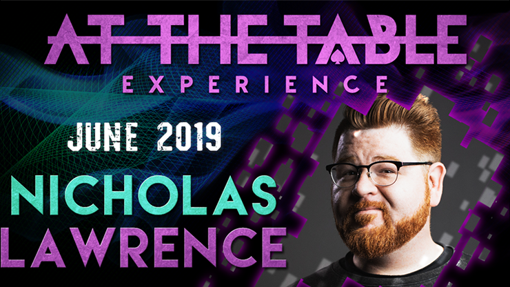 At the Table Live Lecture starring Nicholas Lawrence 2019