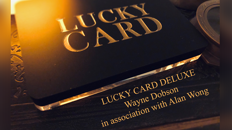 Lucky Card Deluxe by Wayne Dobson & Alan Wong (MP4 Video Download)