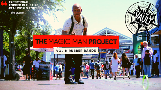 The Vault - The Magic Man Project (Volume 1 Rubber Bands) by Andrew Eland