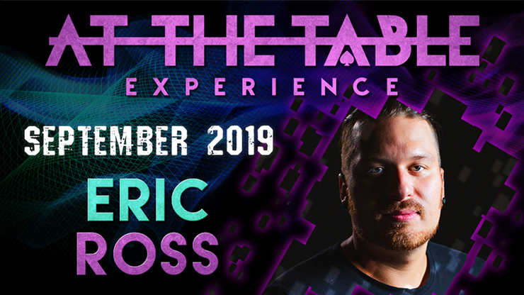 At the Table Live Lecture starring Eric Ross 2 2019