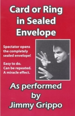 Card or Ring in Sealed Envelope by Jimmy Grippo (PDF Download)
