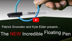 The New Incredible Floating Pen by Patrick Snowden (MP4 Video Download)