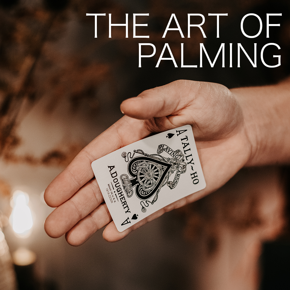Deep Magic Seminars Winter 2021 - The Art of Palming - four weeks collection