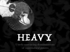Heavy by Luke Jermay - Utterly Convincing Demonstrations Of Supernatural Powers