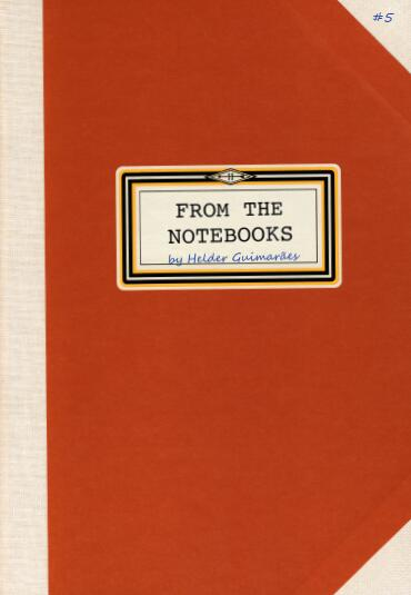 From the Notebooks by Helder Guimaraes #5 (PDF Download)