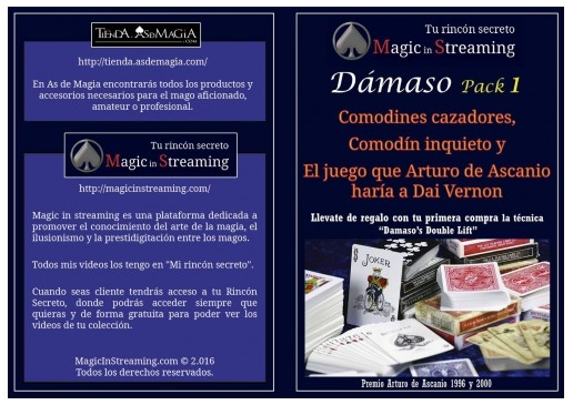 Magic in Streaming Pack 1-3 by Damaso
