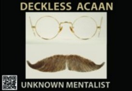 DECKLESS ACAAN by Unknown Mentalist (Almost Anything @ Almost Anything) (Instant Download)