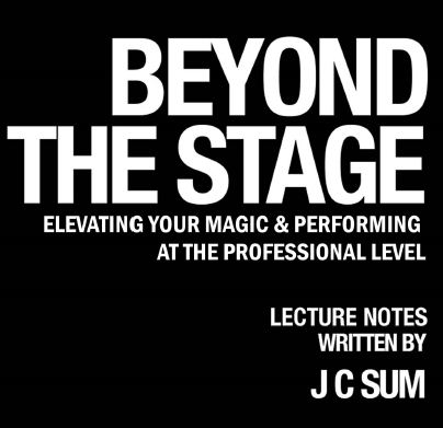 JC SUM - BEYOND THE STAGE