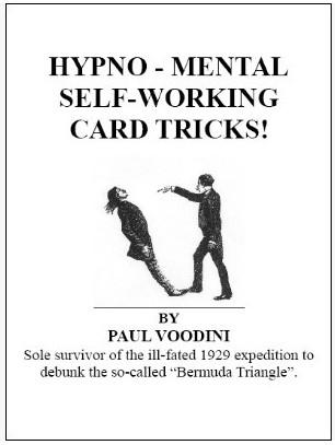 Paul Voodini - Hypno-mental self-working card tricks