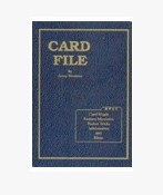 Card File by Jerry Mentzer 1-2