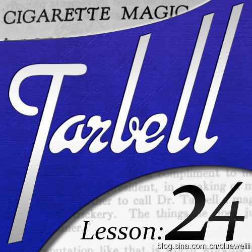 Dan Harlan - tarbell 24: Dan Harlan - Cigarette Magic