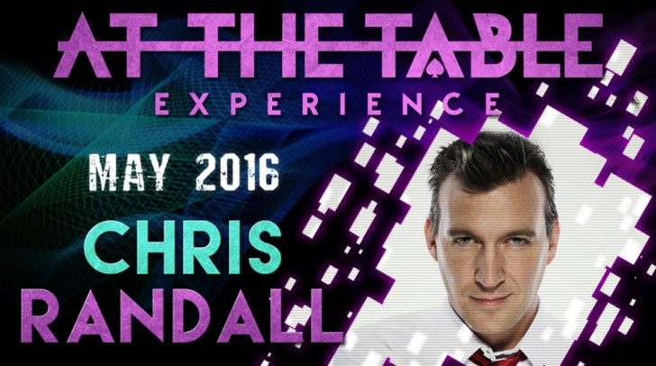 At the Table Live Lecture Chris Randall May 18th 2016