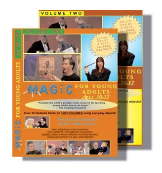 Magic for Young Adults Ages 10-17 2set