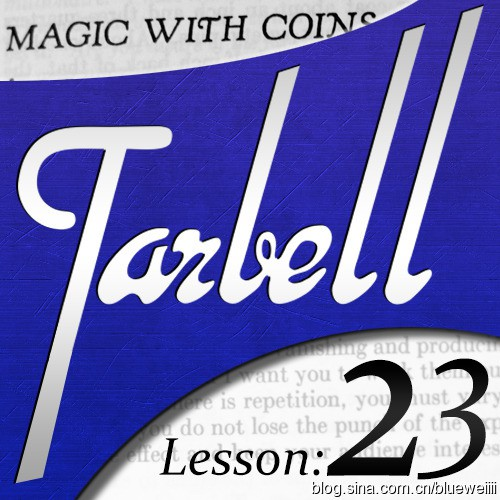 Dan Harlan - tarbell 23: Dan Harlan - Magic With Coins