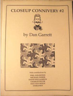 Dan Garrett - Closeup Connivery - Vol 2