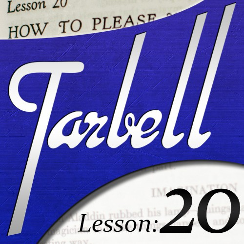 Dan Harlan - tarbell 20: How to Please Your Audience