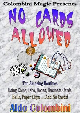Aldo Colombini - No Cards Allowed
