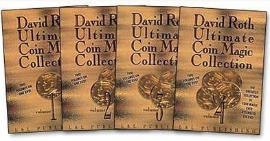 Ultimate Coin Magic Collection David Roth 4sets