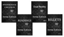 4 Volume Set of Reading, Billets, Dual Reality and Psychological Playing Card Forces by Peter Turner (DRM Protected Ebook Download)