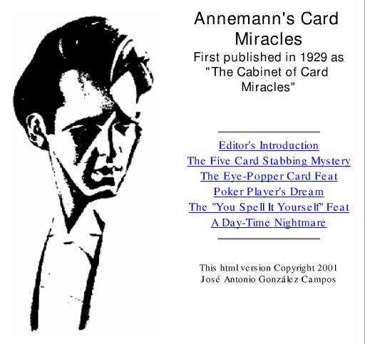 Annemann - Card Miracles