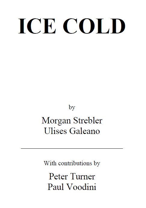 ICE COLD by Morgan Strebler Ulises Galeano PDF
