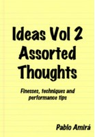 Ideas Vol 2: Assorted Thoughts by Pablo Amira (Instant Download)