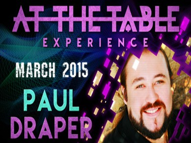 At the Table Live Lecture - Paul Draper