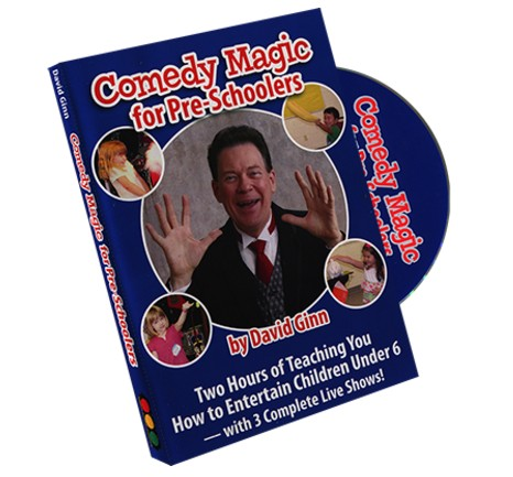 David Ginn - Comedy Magic for Pre-Schoolers (Video Download)