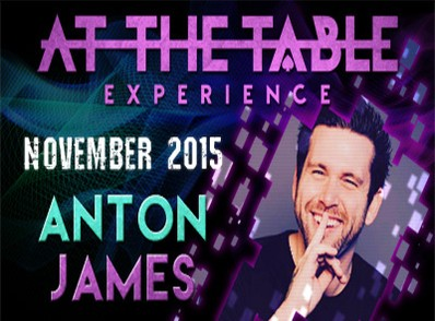 At the Table Live Lecture - Anton James