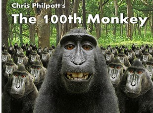 100th Monkey by Chris Philpott - Hundredth Monkey