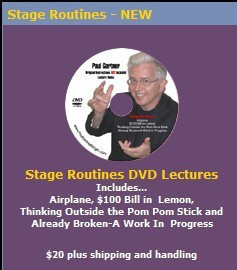 Paul Gertner - Stage Routines lecture (Video Download)