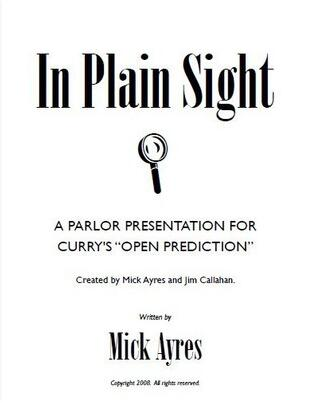 Mick Ayres and Jim Callahan - In Plain Sight