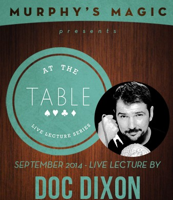 At the Table Live Lecture - Doc Dixon