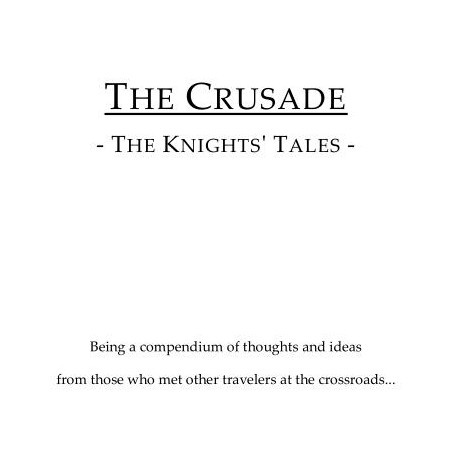 ATLAS BROOKINGS - THE CRUSADE SUPPLEMENT - THE KNIGHTS' TALES