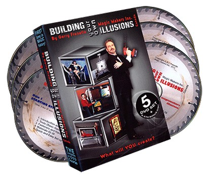 Building Your Own Illusions Part 1 by Gerry Frenette (6 DVD set) The Complete Video Course